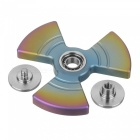 FURA TC4 Tri-Fan Shape Titanium Alloy Hand Spinner Toy - Colorful