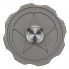 FURA TC4 Star Shaped Titanium Alloy Hand Spinner Toy - Grey