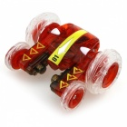 777-610 4-Channel 2.4Ghz Micro RC Stunt Car w/ Lamp - Red