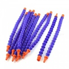 1/4 inch Plastic Soft Water Cooling Tubings - Blue (10PCS)