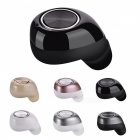 Wireless Bluetooth Stereo Earphone with Charging Station - Black