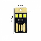 YWXLight 5PCS 1W 3LED 5V 22lm 2835 SMD USB LED Bombillas para PC portátil