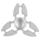 Buy Zanhoo Metal Aluminum Tri Fidget Relieve Hand Finger Spinner - Silver