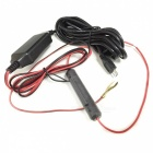 1.5A Micro USB Interface Output, 12~24V to 5V Power Cable With Fuse (300cm)