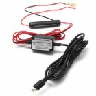 12V 24V to 5V 1.5A Power Cable with Low Voltage Protection for Car DVR, GPS
