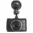 Car DVR HD Driving Recorder With Infrared Night Vision, HDMI - Black