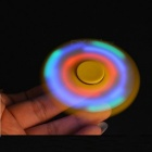 E-SMARTER Colorful Luminous Fidget Stress Relief Spinner Toy - Rouge