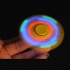 E-SMARTER Colorful Luminous Fidget Stress Relief Spinner Toy - White