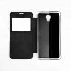 OUKITEL Protective Flip-Open Case for OUKITEL K6000 Plus - Black