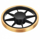 E-SMARTER Wheel Style Stress Relief Finger Toy Spinner - Golden