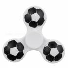 E-SMARTER Football Pattern Stress Relief Fidget Toy EDC Spinner -White