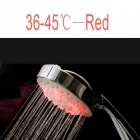 Temperature Control Color-Changing LED Bathroom Shower Head