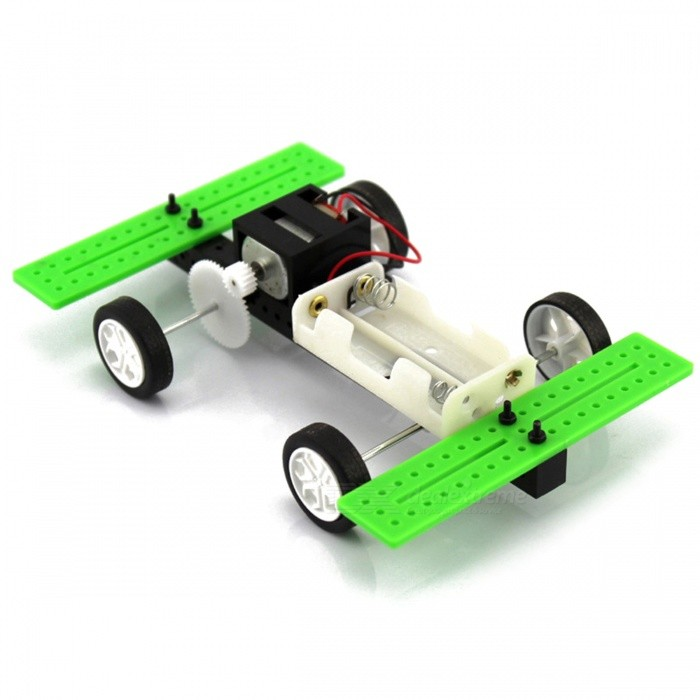 Manual DIY Assembly Model Car Toy 2 X AA Batteries (Not