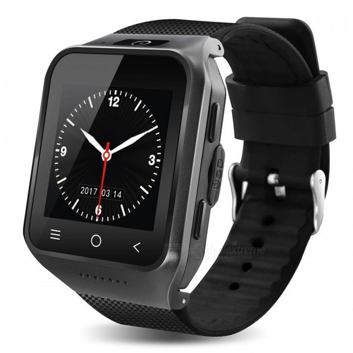 96df519a03a0 S8 3G Wi-Fi MTK6572 Dual-Core Android Bluetooth Smart Watch - Grey - Free  Shipping - DealExtreme