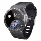 "S99A MTK6580 3G Android 5.1 1.33"" Wristwatch Smart Watch - Black"