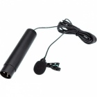 BOYA BY-M40D Cardioid Lavalier Microphone with Cannon Plug - Black