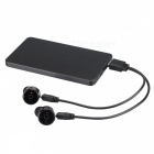 Eastor X1T Invisible True Bluetooth sans fil avec microphone - Noir