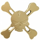 Mr.northjoe Skull Style Spinner Fidget Toy EDC Hand Spinner - Golden
