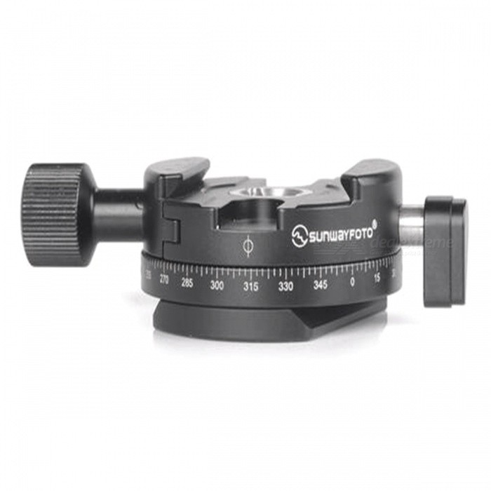 SunwayFoto DDH-05 Tripod Head Quick Release ClampTripods and Holders<br>Form  ColorBlackModelDDH-05MaterialAluminumQuantity1 pieceShade Of ColorBlackTypeTripodRetractableNoMax.Load20 kgPacking List1 x DDH-05 Tripod Head Quick Release Clamp<br>