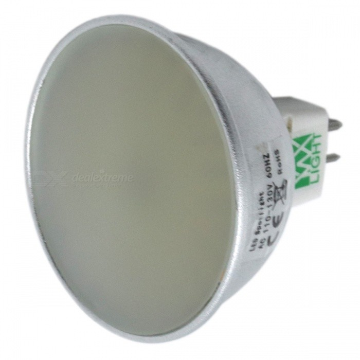 ywxlight MR16 128-LED 400-500lm 3-värinen LED-valonheitin (AC 110-130V)