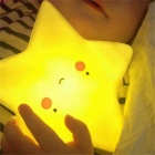 Star Night Light LED Lamp for Children Gift Home Decoration - Yellow