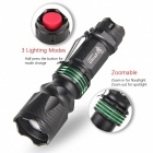UltraFire U5 Super Tactical Zoom Nightlight Strong Bright 300lm - Noir