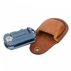 Fura Folding Knife Gaine de protection en cuir - Marron