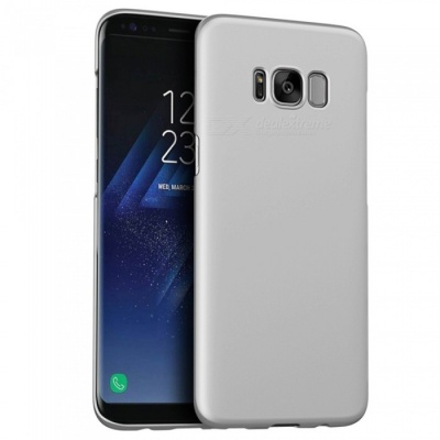 Naxtop PC Hard Protective Back Case for Samsung Galaxy S8 Plus -Silver