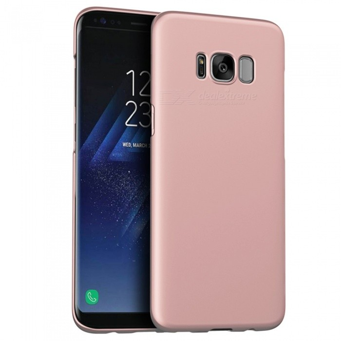 Naxtop PC Hard Protective Back Case for Samsung S8 Plus - Rose Gold