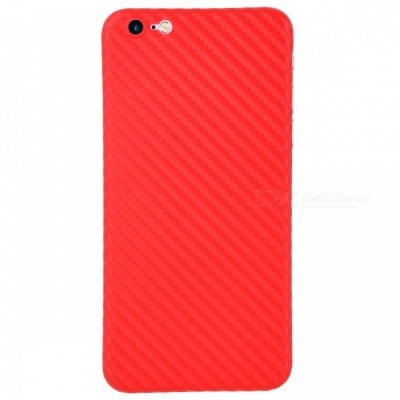 Ultra-thin PP Carbon Fiber Style Case for IPHONE 6 / 6S - Red
