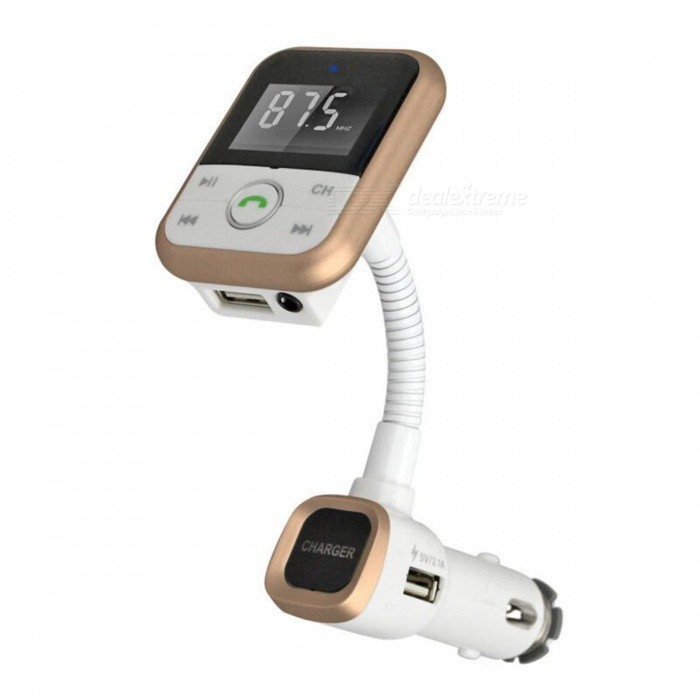 BT67 Bluetooth V4.0 Car Charger with Remote Control