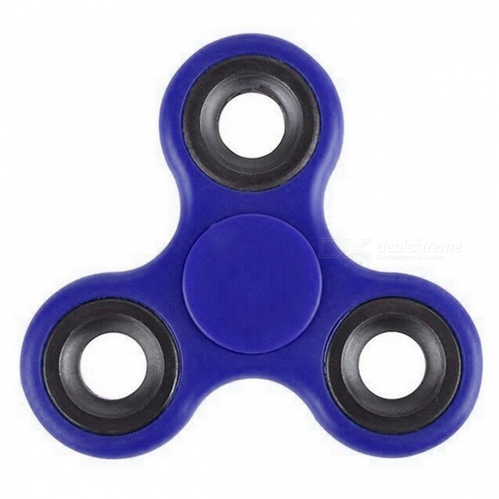 Mr.northjoe Tri-Spinner Fidget Toy PVC EDC Hand Spinner - BlueFinger Toys<br>Form  ColorBlueMaterialPlasticQuantity1 DX.PCM.Model.AttributeModel.UnitSuitable Age 3-4 years,5-7 years,8-11 years,12-15 years,Grown upsPacking List1 x Toy<br>