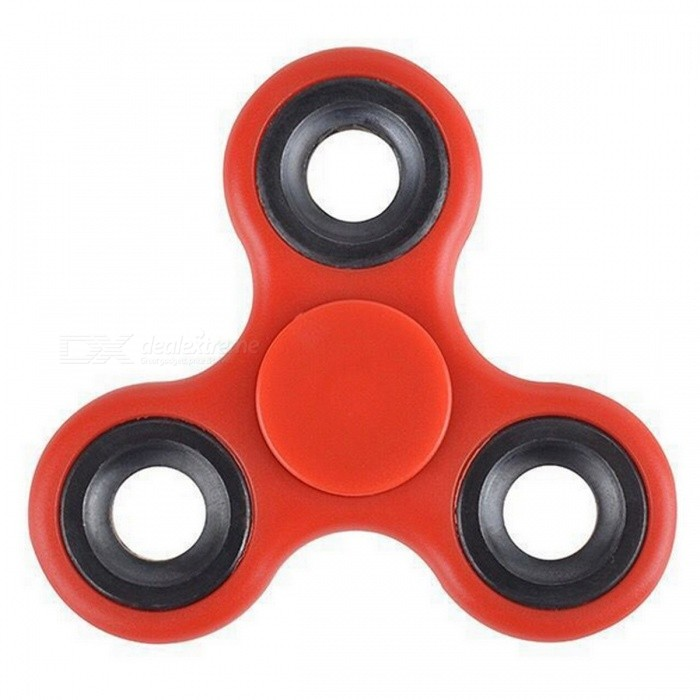 Mr.northjoe Tri-Spinner Fidget Toy PVC EDC Hand Spinner - RedFinger Toys<br>Form  ColorRedMaterialPlasticQuantity1 DX.PCM.Model.AttributeModel.UnitSuitable Age 3-4 years,5-7 years,8-11 years,12-15 years,Grown upsPacking List1 x Toy<br>