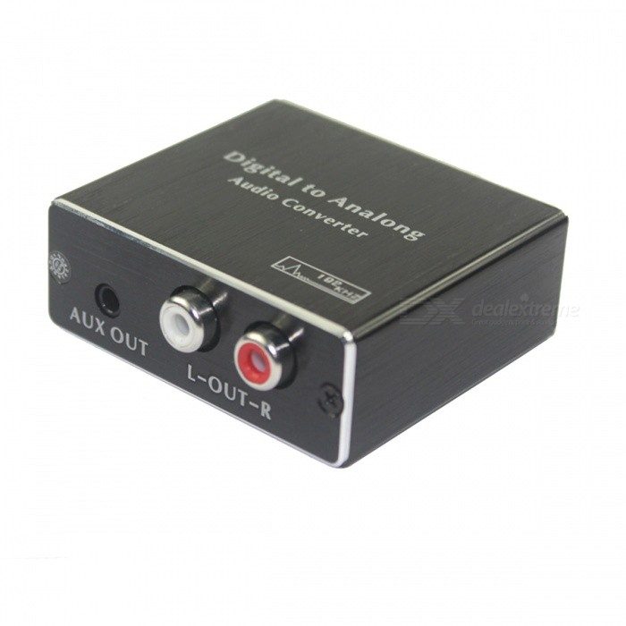 BSTUO Digital SPDIF Toslink Coaxial to Analog Converter