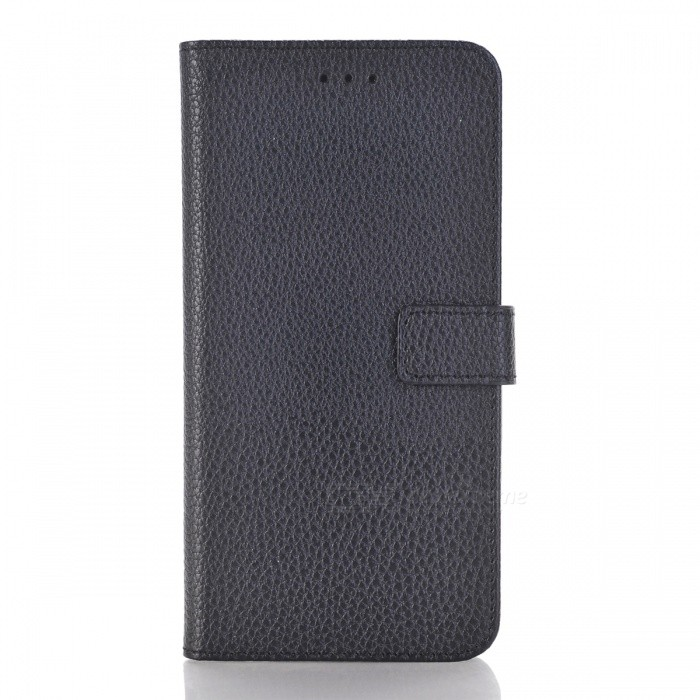PU Wallet Case with Stand and Card Slots for HUAWEI P10 Lite - BlackLeather Cases<br>Form  ColorBlackModelN/AMaterialPUQuantity1 pieceShade Of ColorBlackCompatible ModelsHUAWEI P10 LITEFeaturesAnti-slip,Dust-proof,Shock-proof,Easy-to-remove,Holder functionPacking List1 x Case<br>