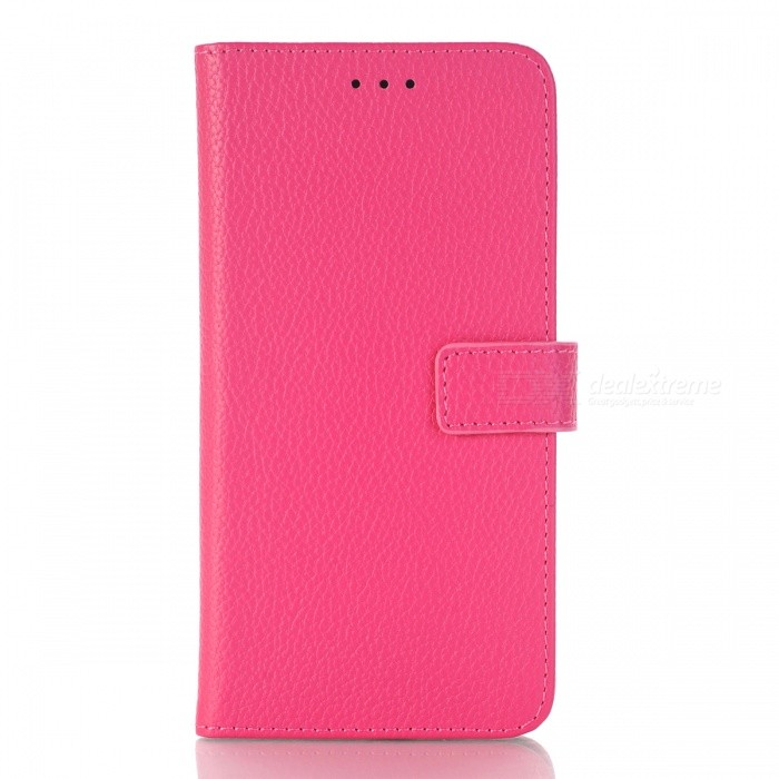 PU Wallet Case with Stand for HUAWEI P10 Lite - Deep PinkLeather Cases<br>Form  ColorDeep PinkModelN/AMaterialPUQuantity1 DX.PCM.Model.AttributeModel.UnitShade Of ColorPinkCompatible ModelsHUAWEI P10 LITEFeaturesAnti-slip,Dust-proof,Shock-proof,Easy-to-remove,Holder functionPacking List1 x Case<br>