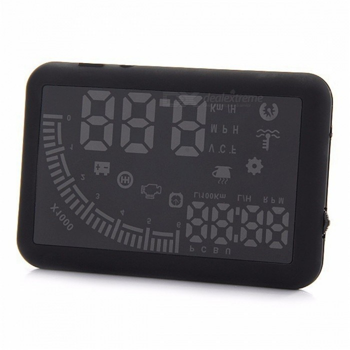 Kelima EM05 5.5 pulgadas Car Head-up Display - Negro
