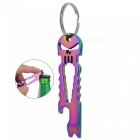 FURA Skull Shaped Multi-functional Stainless Steel Crowbar - Colorful