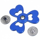 BLCR Clover Style EDC Finger Spinner Toy for Autism - Blue