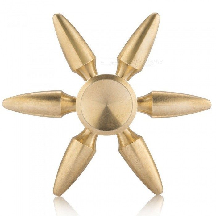 Mr.northjoe Bullet Heads EDC Hand Spinner Toy pour l'autisme - Golden