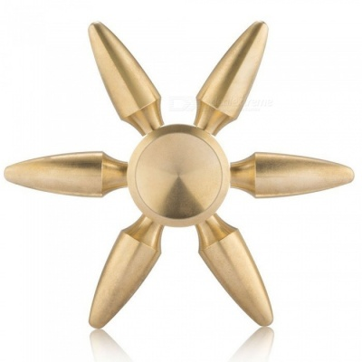 Mr.northjoe Bullet Heads EDC Hand Spinner Toy for Autism - Golden