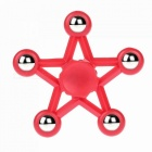 Mr.northjoe Star Shaped EDC Hand Spinner Toy for Autism - Red