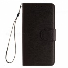 Lychee Grain Style Leather Case for Samsung Galaxy A7 (2016), A710