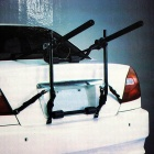 90SMART Sports 2-Bike Trunk Mount Rack - Black