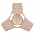 BLCR Tri-Spinner Fidget Toy EDC Finger Spinner for Autism - Golden