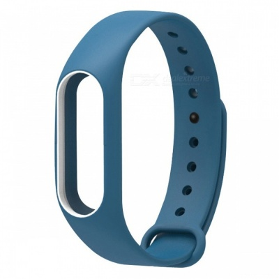 Replacement TPU Wrist Band for Xiaomi MI Band 2 - Deep Blue