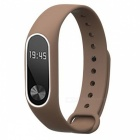 Replacement TPU Wrist Band for Xiaomi MI Band 2 - Brown