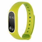 Replacement TPU Wrist Band for Xiaomi MI Band 2 - Green