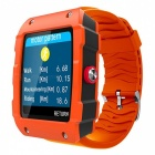 "V18 1.54"" Bluetooth Smart Watch Supports 32GB TF Card and GPS - Orange"