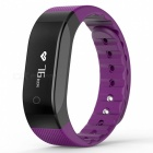 OLED IP65 Bluetooth 4.0 Smart Bracelet with Heart Rate Monitor -Purple